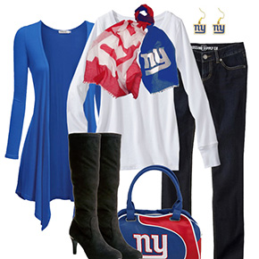 New York Giants Inspired Fall Fashion