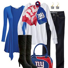 New York Giants Inspired Fall Fashion