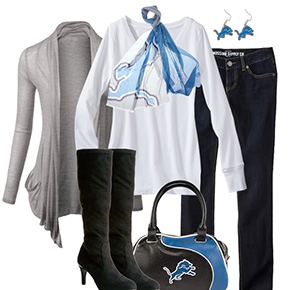 Detroit Lions Inspired Fall Fashion