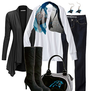 Carolina Panthers Inspired Fall Fashion