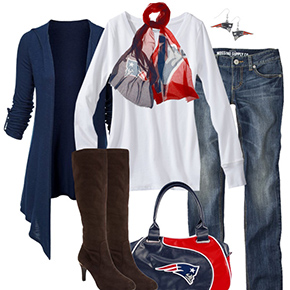 New England Patriots Inspired Fall Fashion