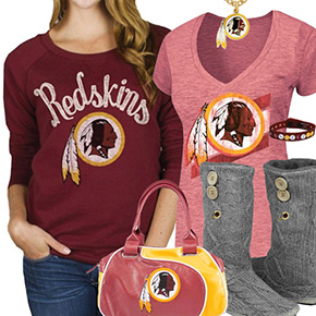 best service d4272 4bdb7 Shop Washington Redskins Fan Gear | Cute Sports Fan