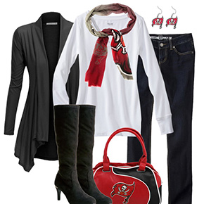 Tampa Bay Buccaneers Inspired Fall Fashion