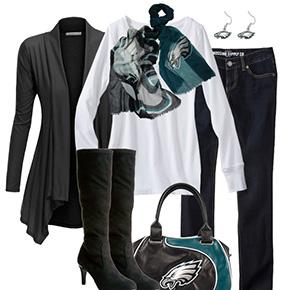 Philadelphia Eagles Inspired Fall Fashion