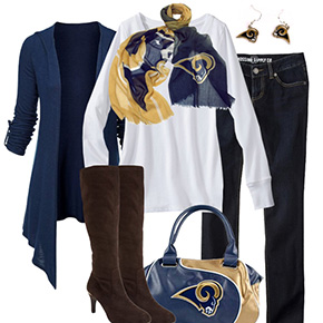 St. Louis Rams Inspired Fall Fashion