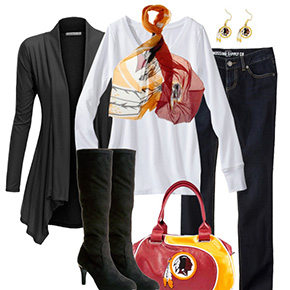 Washington Redskins Inspired Fall Fashion