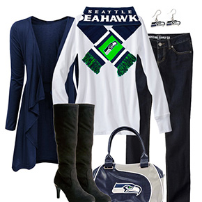 Seattle Seahawks Inspired Fall Fashion