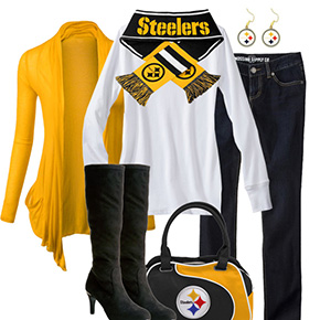 Pittsburgh Steelers Inspired Fall Fashion
