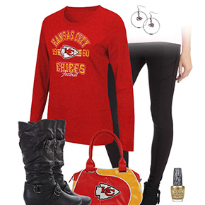 Kansas City Chiefs Inspired Leggings Outfit