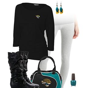 Jacksonville Jaguars Inspired Leggings Outfit