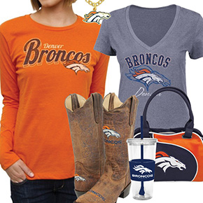 Cute Broncos Fan Gear