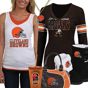 Cute Browns Fan Gear