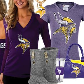 Cute Vikings Fan Gear