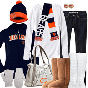 Chicago Bears Inspired Winter Fashion