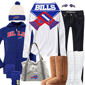 Buffalo Bills Inspired Winter Fashion