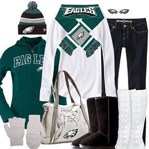 Philadelphia Eagles Inspired Winter Fashion