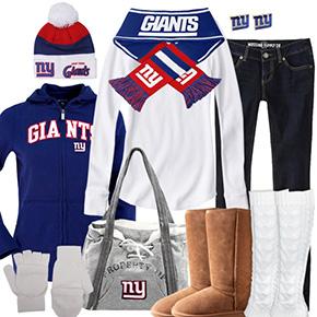 New York Giants Inspired Winter Fashion