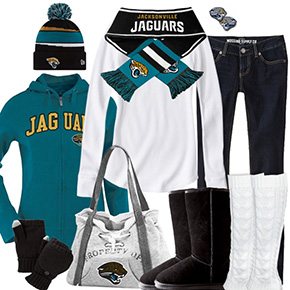 Jacksonville Jaguars Inspired Winter Fashion