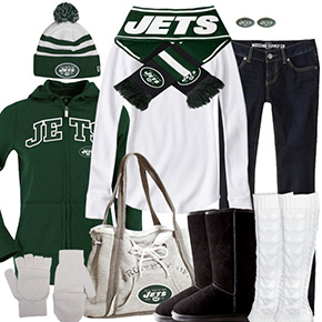 New York Jets Inspired Winter Fashion
