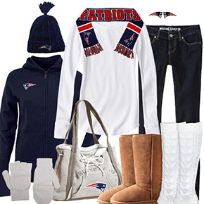 New England Patriots Inspired Winter Fashion