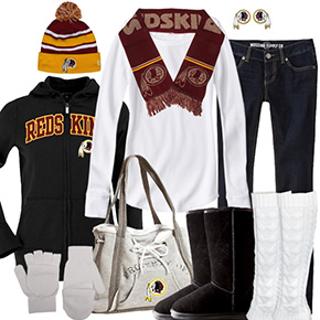 Washington Redskins Inspired Winter Fashion