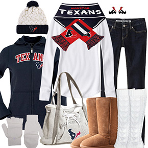 Houston Texans Inspired Winter Fashion