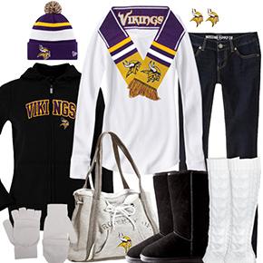 Minnesota Vikings Inspired Winter Fashion