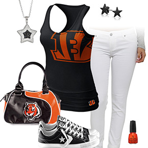 Cincinnati Bengals Outfit With Converse