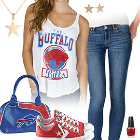 Buffalo Bills Outfit With Converse