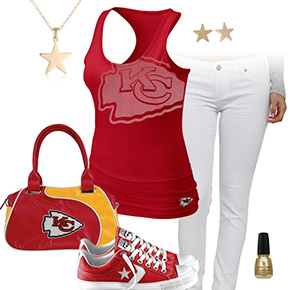 Kansas City Chiefs Outfit With Converse