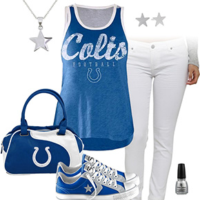 Indianapolis Colts Outfit With Converse