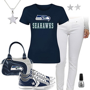 Seattle Seahawks Outfit With Converse