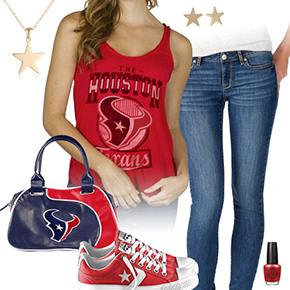 Houston Texans Outfit With Converse