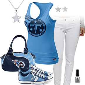 Tennessee Titans Outfit With Converse