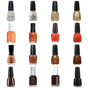 Cleveland Browns Nail Polish Colors