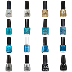 Carolina Panthers Nail Polish Colors
