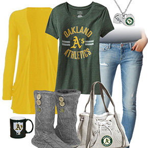 Cute Oakland Athletics Tshirt