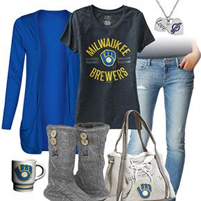Cute Milwaukee Brewers Tshirt