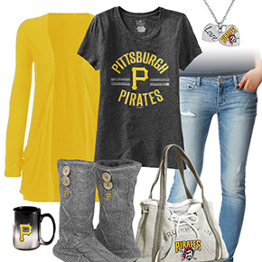 Cute Pittsburgh Pirates Tshirt