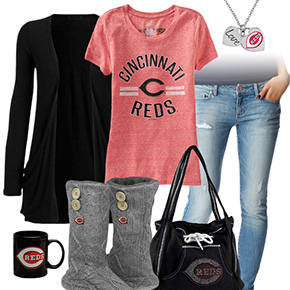 Cute Cincinnati Reds Tshirt
