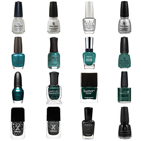 Philadelphia Eagles Nail Polish Colors