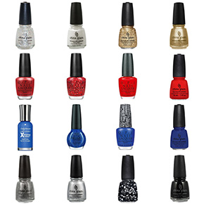 New York Giants Nail Polish Colors