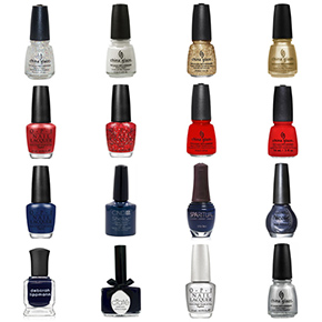 New England Patriots Nail Polish Colors