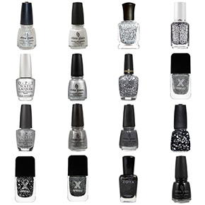 Oakland Raiders Nail Polish Colors