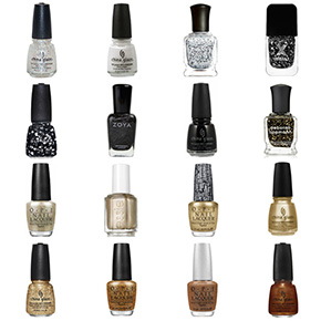 New Orleans Saints Nail Polish Colors