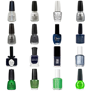 Seattle Seahawks Nail Polish Colors