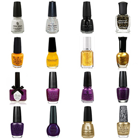 Minnesota Vikings Nail Polish Colors