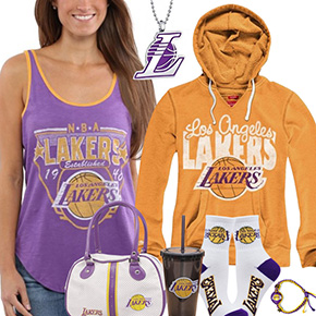Cute Lakers Fan Gear