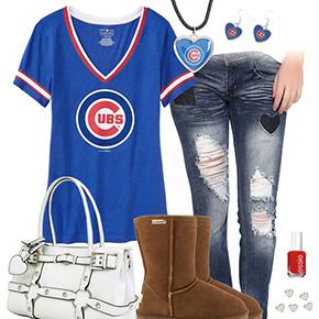 Cute Chicago Cubs Tshirt