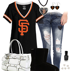 Cute San Francisco Giants Tshirt